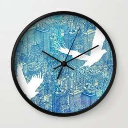 Ecotone (day) Wall Clock