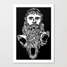 Grizzly Adam's Triumphant Return Canvas Print