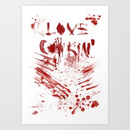 Love cooking Art Print