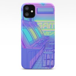Midnight Arcade iPhone Case