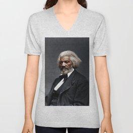 Frederick Douglass Unisex V-Neck