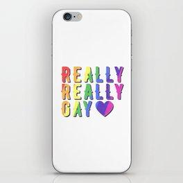 Really Really Gay iPhone & iPod Skin