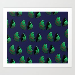 The Num Nums - The Egg Art Print