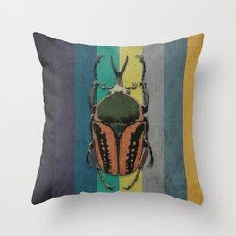 Bettle Throw Pillow
