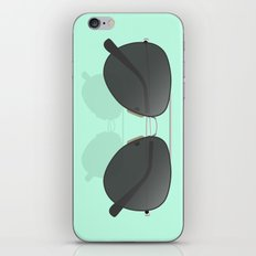 Aviator sunglasses iPhone & iPod Skin