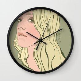 Chloe Sevigny Wall Clock