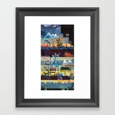 Circuit Diagram for the World Framed Art Print