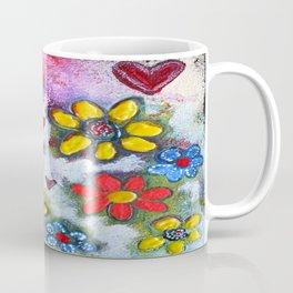 Dancing Flowers Coffee Mug
