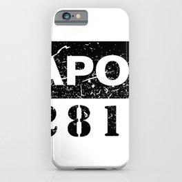 Capone C28169 iPhone Case