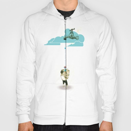 "Glue Network Print Series ""Water / Hygiene / Sanitation"" Hoody"