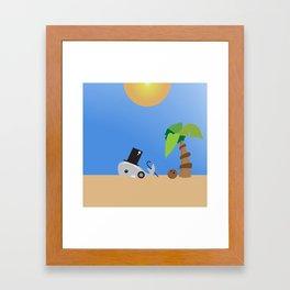 Whale 2 of 3 Framed Art Print