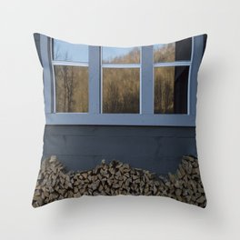 Sliver of Fall Throw Pillow
