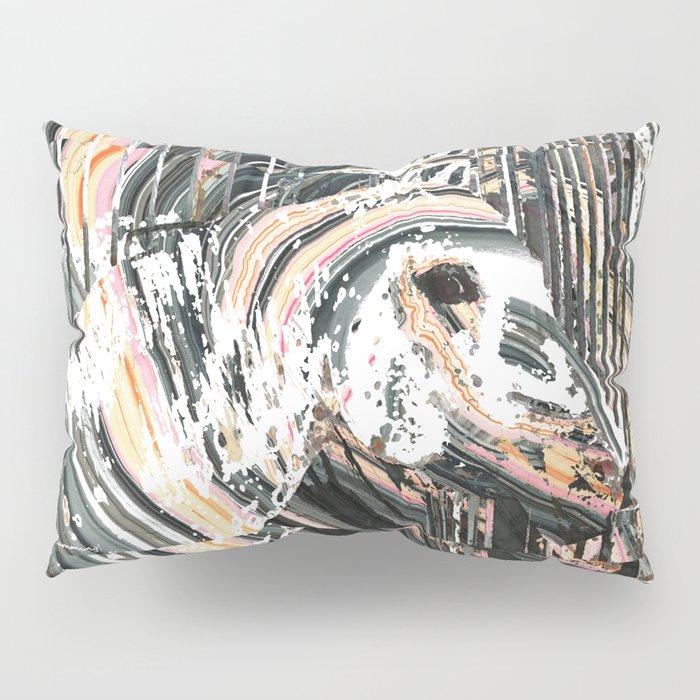 Modern Horse Art by Sharon Cummings Pillow Sham