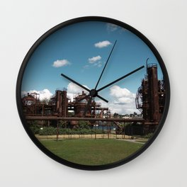 Gas Works Park Wall Clock