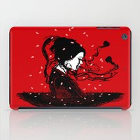 poetry iPad Cases featuring Geiko Poetry by pigboom el crapo