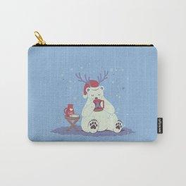 Polar Xmas Eggnog Carry-All Pouch