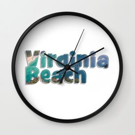 Virginia Beach Wall Clock