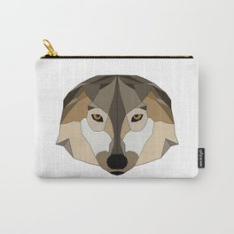 Low Poly Wolf - Animals Carry-All Pouch
