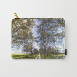 The Summer Farm Track Art Carry-All Pouch