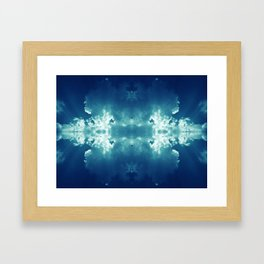 Atomic Clouds Framed Art Print