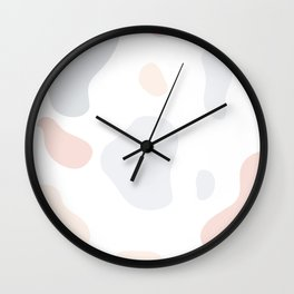 Moo patches - Agate colour series Wall Clock
