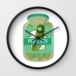 I'm Pickle Rick Jar! Wall Clock