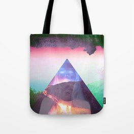 Even the cool erupt  Tote Bag