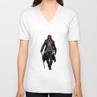 assassins creed V-neck T-shirts featuring assassins - assassins by alexa