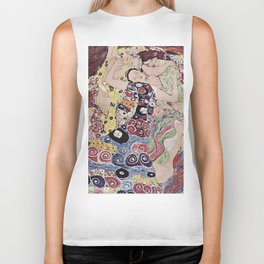THE VIRGINS - GUSTAV KLIMT Biker Tank