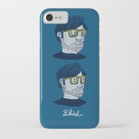 blink 182 iPhone & iPod Cases featuring Blink by Drew Brockington