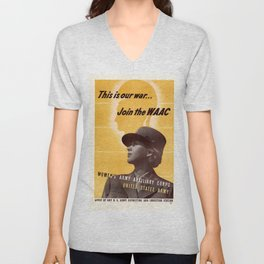 This Is Our War Unisex V-Neck