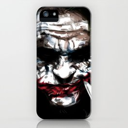 serious smile! iPhone Case