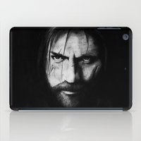lannister iPad Cases featuring Jaime Lannister by Raye Hargis