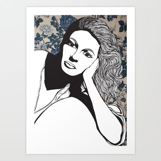 Frances Farmer Art Print