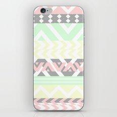 chevron pattern. iPhone & iPod Skin