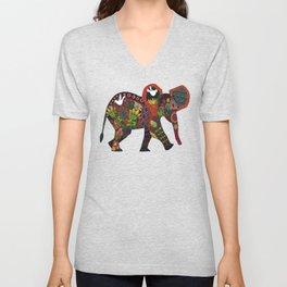 little elephant Unisex V-Neck