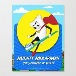 Mighty MolarMan Canvas Print