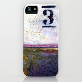 Small Abstract - No. 3 iPhone Case
