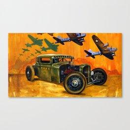 Pride of the fleet Canvas Print