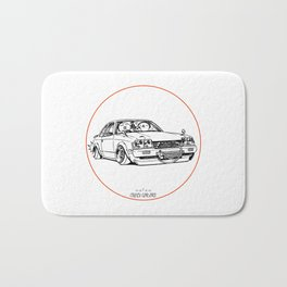 Crazy Car Art 0208 Bath Mat
