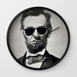 BE COOL - Honest Abe Wall Clock