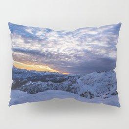 Winter Sunrise Pillow Sham