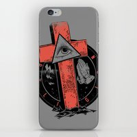 religion iPhone & iPod Skins featuring Religion by Tshirt-Factory