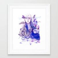 nausicaa Framed Art Prints featuring Nausicaa by Sarah Bochaton