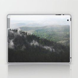 Clouds in the forest Laptop & iPad Skin