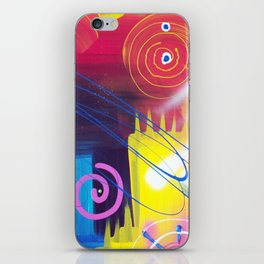 Vivid Thoughts 2 iPhone Skin