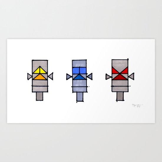 TOTEM3 Art Print
