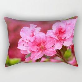 Azaleas Rectangular Pillow