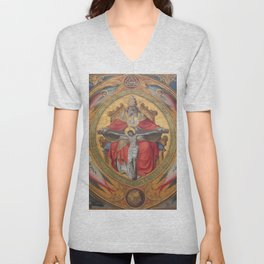 Cologne Cathedral - Altar of the Poor Clares Unisex V-Neck
