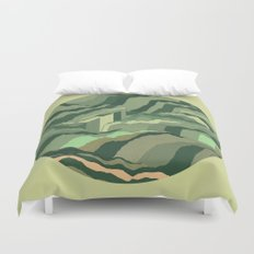 TOPOGRAPHY 005 Duvet Cover